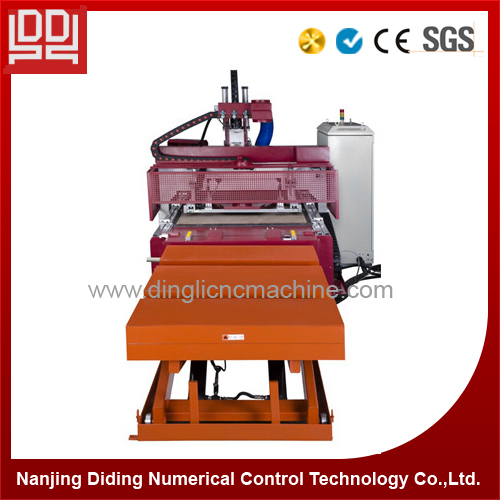 Wood drilling machine