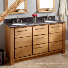 Solid Wood Classic Bathroom Cabinet