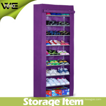 Modern Furniture Large Folding Fabric Shoe Storage Cabinet