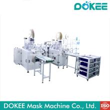 Neue Produktionslinie für Maschinen mit flacher Gesichtsmaske