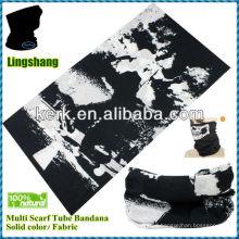 LSB214 Ningbo Lingshang 100% polyester 24*48cm Multifunction Seamless Tube Wholesale Bandana is hot sale