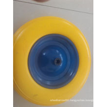 Tubeless PU Foam Wheel 400-8 300-8 for Wheelbarrow Use