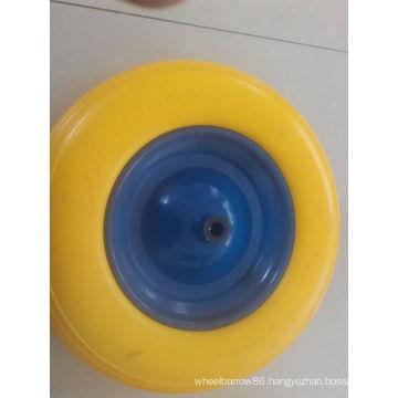 Tubeless PU Foam Wheel 400-8 300-8 for Wheelbarrow Use