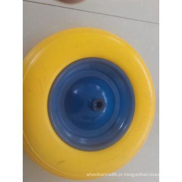 Roda da prova da perfuração da espuma do plutônio do carrinho de mão