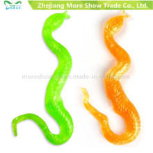 Promotional TPR Sticky Snake Toys Party Favors Novelty Toys
