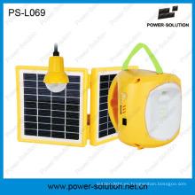 Linterna solar que acampa con la bombilla colgante para el uso al aire libre interior