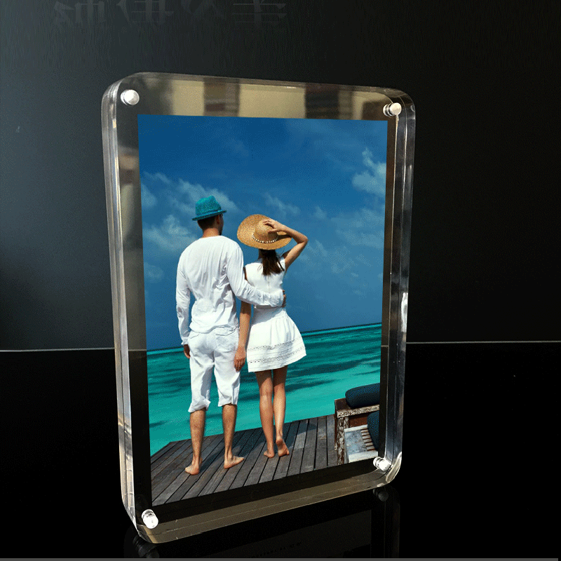 Magnetic Acrylic Photo Holder