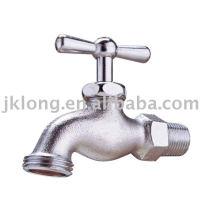 J6007 Nickel plated Brass bibcock Male Faucet