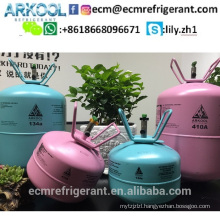 Netural refrigerant gas R600a with 99.9 purity