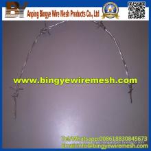 Barato Twist acero galvanizado alambre de púas