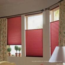 El panal de las persianas teje diseño moderno El cordón caliente de la venta plisó las persianas de ventana