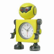 Robot Desk Clock, Ideal for Table Decoration Purposes