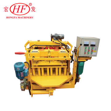 CANTON FAIR QT40-3A MOBILE MANUAL BLOCK MAKING MACHINE PRICE,BLOCK MOULDING MACHINE,CONSTRACTION MACHINERY
