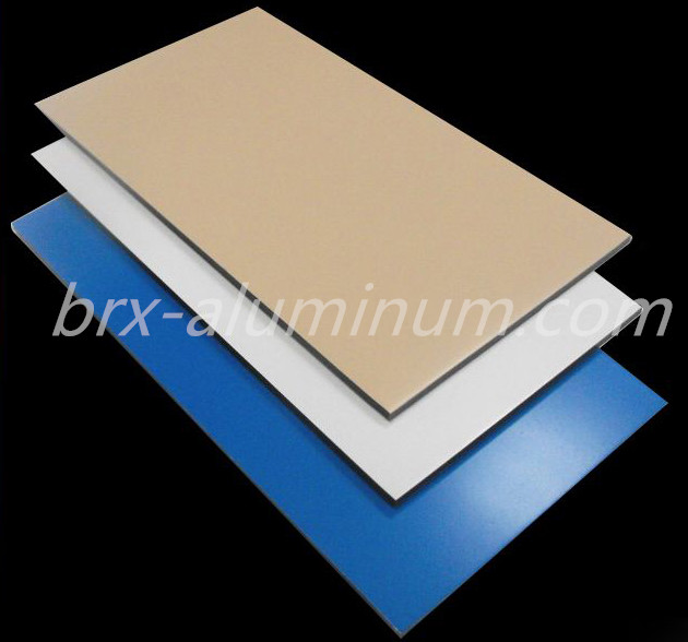 Decorative aluminum alloy panel