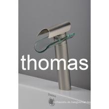 Gebürstete Behandlung hohen Körper Becken Wasserhahn