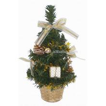 Árvores de mesa de xmas pequenas baratas decorações por atacado