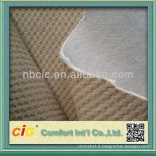 Siège-auto polyester Jacquard brossé tissu tissus de liaison