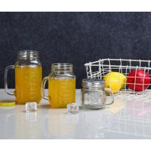 Oben Populärer transparenter Glasbier-Muskel-Becher
