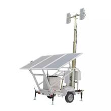 Torre de iluminação solar de 400W