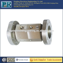 Top grade China cnc stainless steel stud flange sleeve