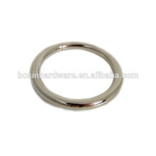 Moda de alta qualidade Metal Purse Hardware Round O Ring
