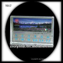 Bunter Druck Foto Kristall Y017