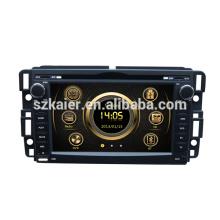 Fábrica 2013 versión HIFI wince 6.0 GPS del coche para GMC Yukon / Acadia / Sierra con GPS / Bluetooth / Radio / SWC / Virtual 6CD / 3G / ATV / iPod