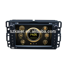 Shock price high quality wince 6.0 car central multimedia for GMC Yukon/Acadia/Sierra with GPS/BT/SWC/Virtual 6CD/3G /ATV/iPod