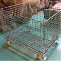Oxidationsresistans Metal Wire Mesh Storage Containers