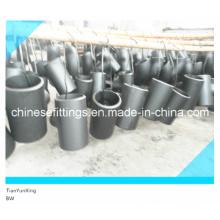 Asme Seamless A234 Reducing Tee Racores de tubería de acero al carbono