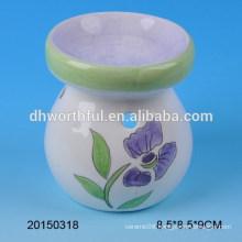 Home decoration simple ceramic oil burner