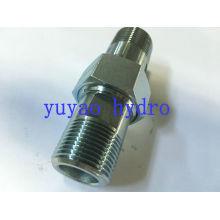 Установка гидравлического соединителя Bsp 60 Deg Adapter