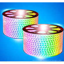 IP44 waterproof 110V/220V light strip 5050 addressable rgb led strip light