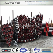 Cubierta y tubo de aceite API 5L API 5CT J55 K55 N80 L80 P110