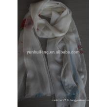 Écharpe en cachemire soluble dans l'eau à la mode