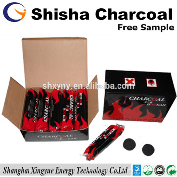 33mm round charcoal for hookah coconut shisha charcoal