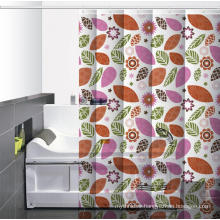 Waterproof Bathroom printed Shower Screen or Curtain