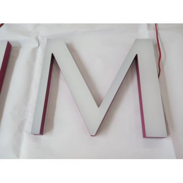 Customized All Acrylic Front Lit LED Channel Letters for Shop 3D LED Sign