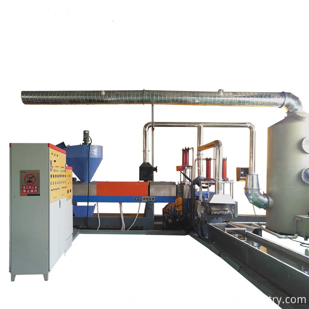 Factory Price Pp Pe Recycled Plastic Granulator Xb