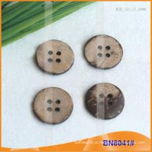 Botões de coco naturais para vestuário BN8041