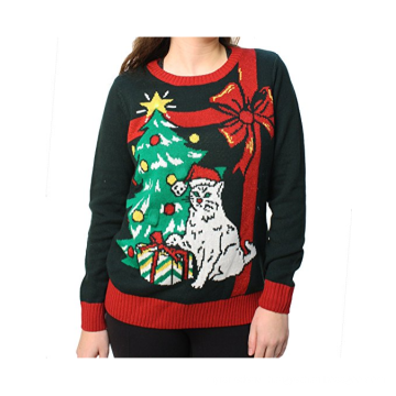 PK1878HX Ugly Christmas Sweater Light Up LED
