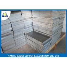 Metal de alumínio do corte feito sob encomenda, folha de alumínio, parte de alumínio de China para a peça de automóvel, molde