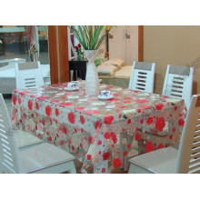 PVC Table Cover, Flower Design