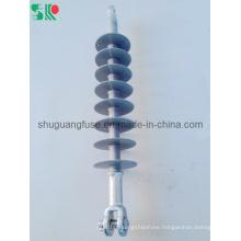 33kv 70kn Silicon Rubber Polymer Suspension Insulator