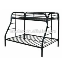 Home Bett Stil allgemeine Verwendung Queen-Size-Stahl-Bett-Design