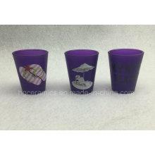 Стекло неоновый цветное, фиолетовое цветное стекло