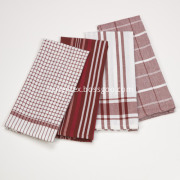 Yarn Dyed Cotton Tea Towel & Dishcloth