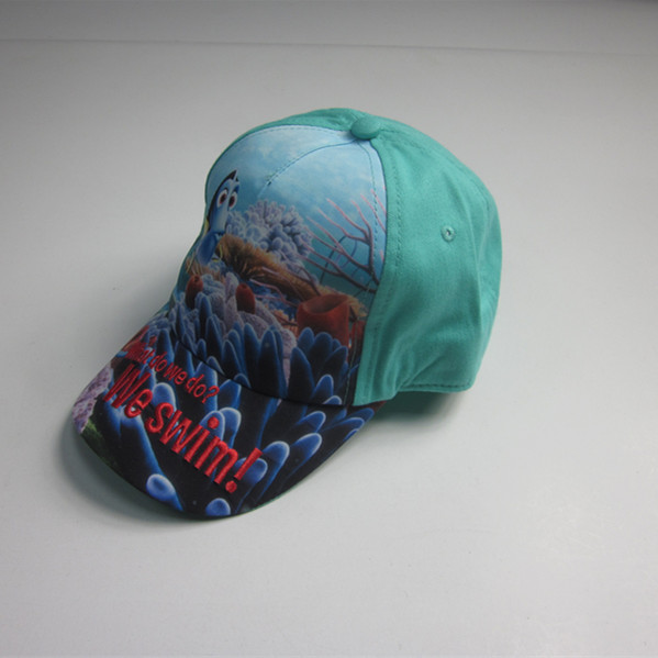 Children Sublimation Print Patent Sport Cap