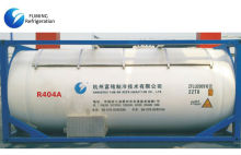 R404A Refrigerant Gas For Low Temperature Refrigeration