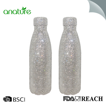 Diamond Leak Proof BPA Free Thermos Water Bottle